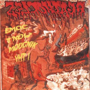 Agathocles - Emoc T'now Modcnik Yht! / Split with Sterbe Hilfe cover art