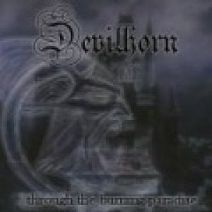 Devilhorn - ...Through the Burning Paradise cover art