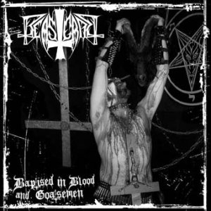 Beastcraft - Baptised in Blood and Goatsemen cover art