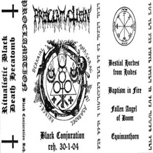 Proclamation - Black Conjuration cover art