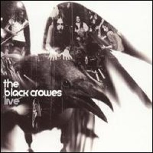 The Black Crowes - Live cover art
