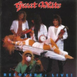 Great White - Recovery: Live! cover art