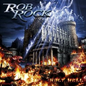 Rob Rock - Holy Hell cover art