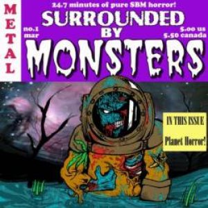 Surrounded by Monsters - Planet Horror cover art