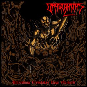 Vrykolakas - Unleashing Vrykolakas Upon the Mankind cover art