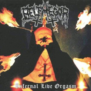 Belphegor - Infernal Live Orgasm cover art