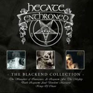 Hecate Enthroned - The Blackend Collection cover art