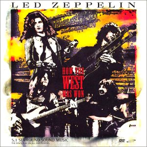 Led Zeppelin - How the West Was Won cover art