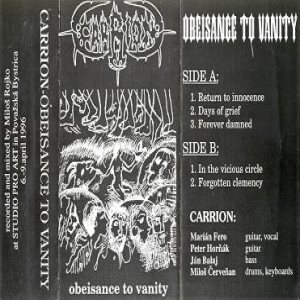 Carrion - Obeisance to Vanity cover art