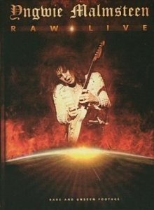 Yngwie Malmsteen - Raw Live cover art
