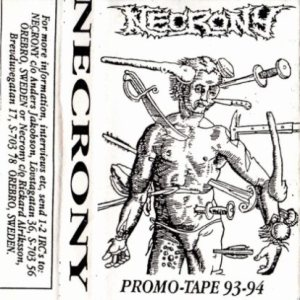 Necrony - Promo Tape '93-'94 cover art