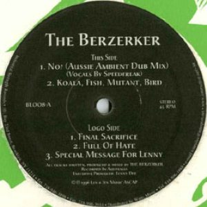 The Berzerker - Full of Hate cover art