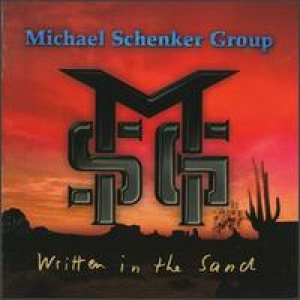 Michael Schenker Group - Written in the Sand cover art