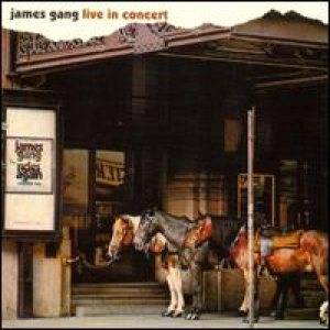 James Gang - Live in Concert cover art