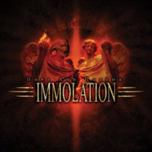 Immolation - Hope and Horror cover art