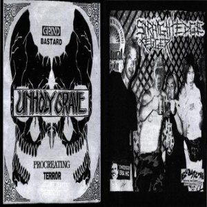 Unholy Grave - Unholy Grave / Straight Edge Kegger cover art