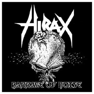 Hirax - Barrage of Noise cover art