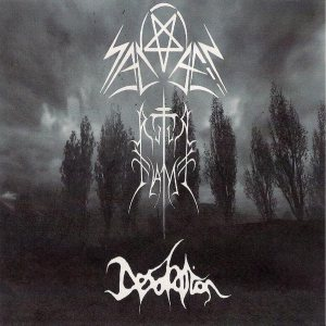 Sadael - Sadael/Ritual Flame/Desolation cover art