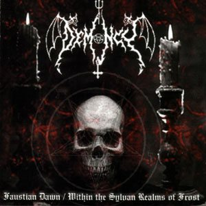 Demoncy - Faustian Dawn / Within the Sylvan Realms of Frost cover art