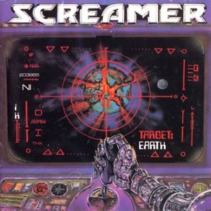 Screamer - Target: Earth cover art
