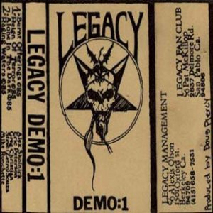 Legacy - Demo: 1 cover art