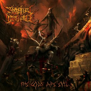 Spiritual Discharge - The Gods Are Evil cover art
