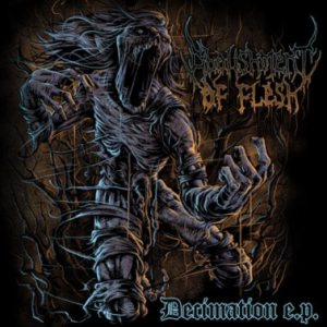 Abolishment of Flesh - Decimation E.P. cover art