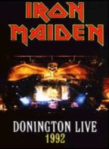 Iron Maiden - Donington Live 1992 cover art