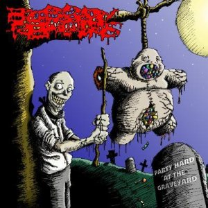 Bloody Remains - Party Hard at the Graveyard cover art