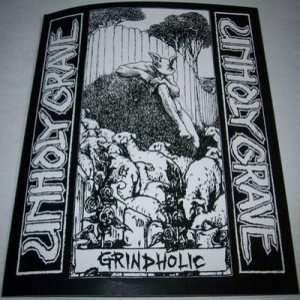 Unholy Grave - Grindholic cover art