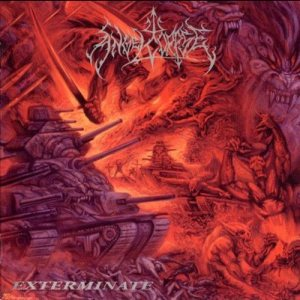 Angelcorpse - Exterminate cover art