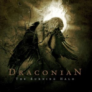 Draconian - The Burning Halo cover art