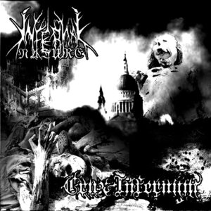 Infernal Nature / Crux Infernum - Dehumanization - Black Metal Blitz cover art