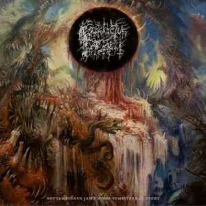 Prosanctus Inferi - Noctambulous Jaws Within Sempiternal Night cover art