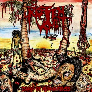 Rotten Vomit - Island of Human Pieces cover art