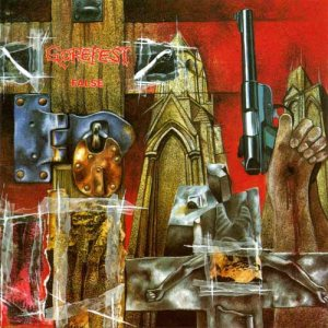 Gorefest - False cover art