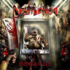 Destruction - Inventor of Evil cover art