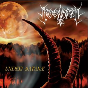 Moonspell - Under Satanae cover art