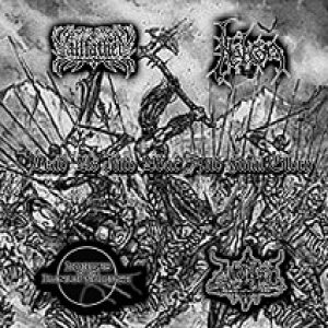 Allfather / Nebron / Hordes of the Lunar Eclipse - Lead Us Into War and Final Glory cover art