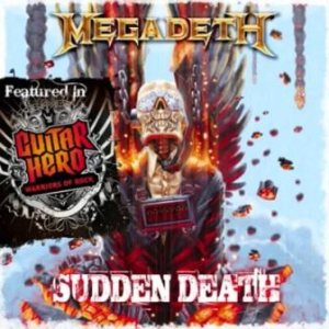 Megadeth - Sudden Death cover art