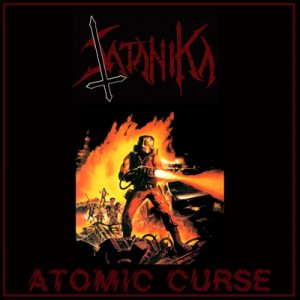 Satanika - Atomic Curse cover art
