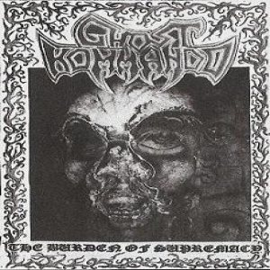 Ghost Kommando - The Burden of Supremacy cover art