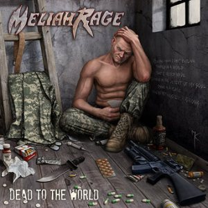 Meliah Rage - Dead to the World cover art