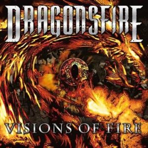 Dragonsfire - Visions of Fire cover art
