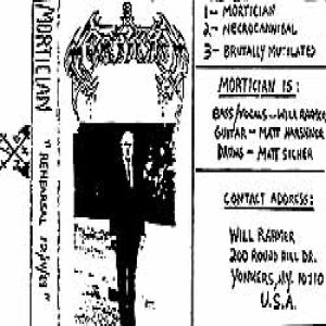 Mortician - Rehearsal 12/14/89 cover art