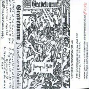 Gravewürm - Nocturnal Spells cover art