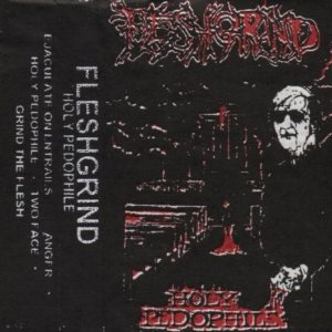 Fleshgrind - Holy Pedophile cover art