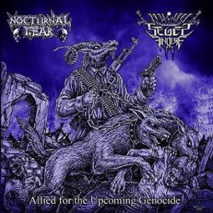 Nocturnal Fear - Allied for the Upcoming Genocide cover art