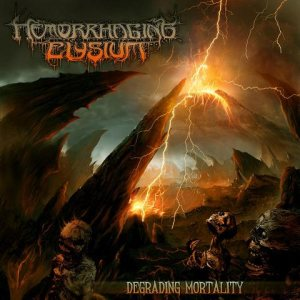 Hemorrhaging Elysium - Degrading Mortality cover art