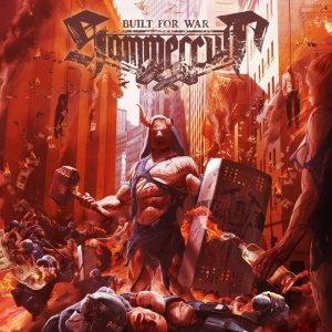 Hammercult - Built for War cover art
